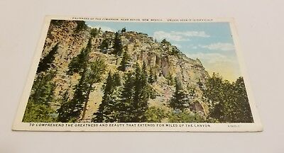 Early View (1929) Palisades of the Cimarron, near Raton, New Mexico