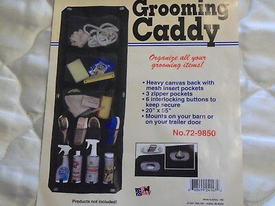 Horse Grooming - Caddy For Brushes, Shampoos, Leads Etc- For Float Door