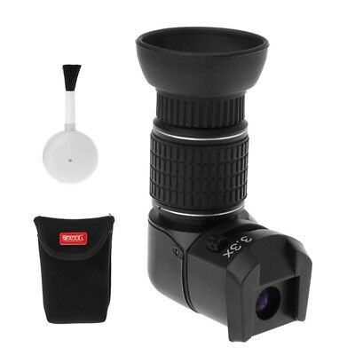 1X - 3.3X Right Angle Viewfinder Adapter For Canon Nikon Pentax Digital Camera