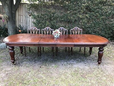 Superb Vintage Antique Style Dining Extension Table~10 Seater~Boardroom