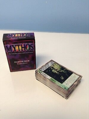 Mythos - The Cthulhu Collectable Card Game: Starter Deck, Limited Edition