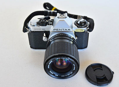 Pentax ME Super 35mm SLR Film Camera with Sigma Lens
