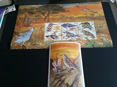 Nevis 1999 Sg 1318-1329 And Ms1330 Birds.full Set. Mnh