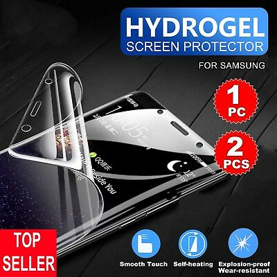 2X HYDROGEL AQUA FLEX Soft Film Screen Protector for Samsung Galaxy S8/S9+ Note9