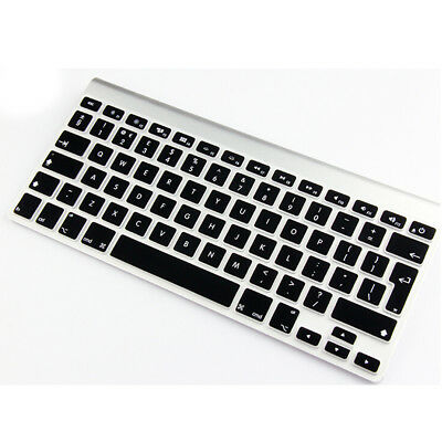 Black UK EU model New Silicone Keyboard Skin Cover For MacBook Pro 15""