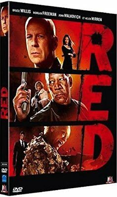 DVD  :  RED  [ Bruce Willis, Morgan Freeman, Helen Mirren ]  NEUF cellophané