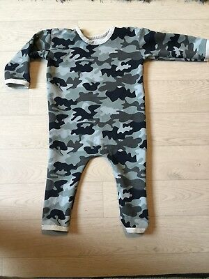 Red Star Kids Handmade All-in-one/coverall Camo Size 9-12
