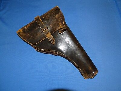 WWII German Flare Gun Holster, 1937 Dated