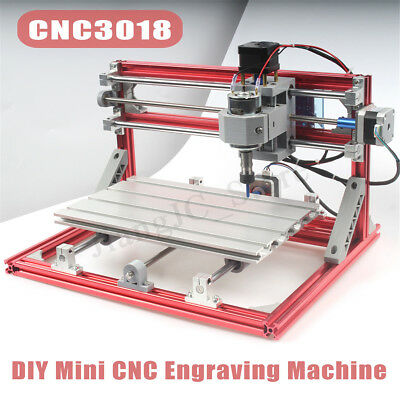 CNC Wood Engraving Carving PCB Milling Machine Router Engraver GRBL Control 3018
