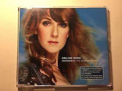 Celine Dion - Goodbye the Saddest Word (Very Rare CD)