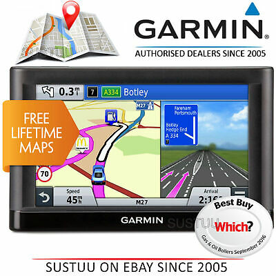 Garmin nuvi 65LM 6 Sat Nav with UK and Ireland Maps and Free Lifetime Map Updates