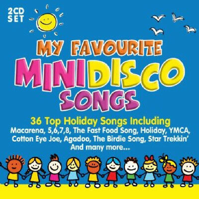 Various Artists : My Favourite Mini Disco Songs CD (2017) ***NEW***