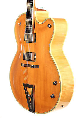 """Artur Lang """"one of two"""" 1965 Acoustic Archtop Gitarre"""