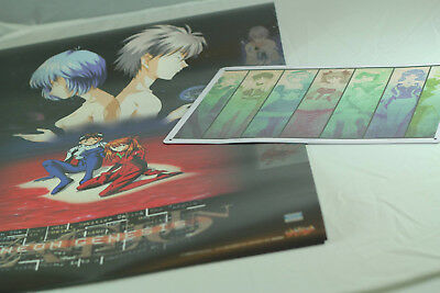 Evangelion Lot - 1999 Calendar (Official Image Posters) + Metal plate