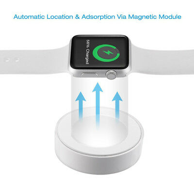 Magnetic Charger Charging Cable For Apple Watch Series 2/3 iWatch 38 42mm 1A BI1