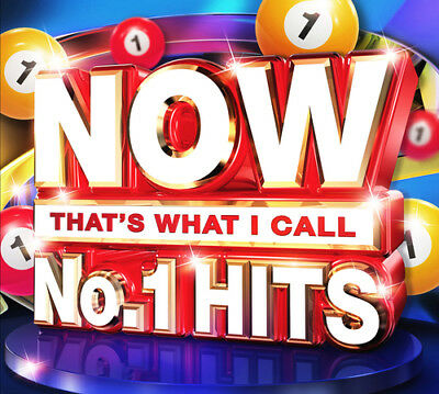 Various Artists : Now That's What I Call No. 1 Hits CD (2016) ***NEW***