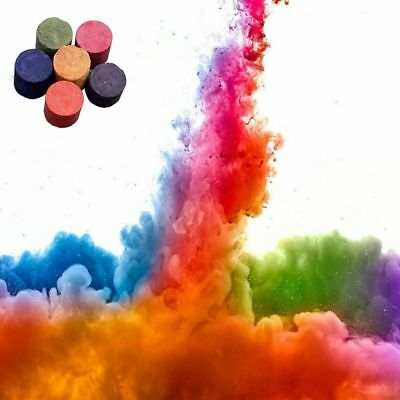 Smoke Cake Colorful Smoke Effect Show Round Bomb Stage Photography Aid Toy CA#