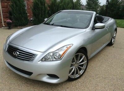 2010 Infiniti G37 Sport,Premium,Tech 2010 G37 Infiniti Hardtop Convertible Loaded and Mint