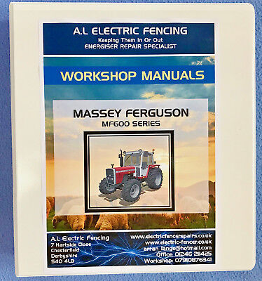 Massey Ferguson MF165 Tractor Service Repair Workshop Manual,FREE POSTAGE
