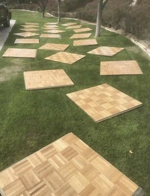 Portable wooden dance floor pista de baile