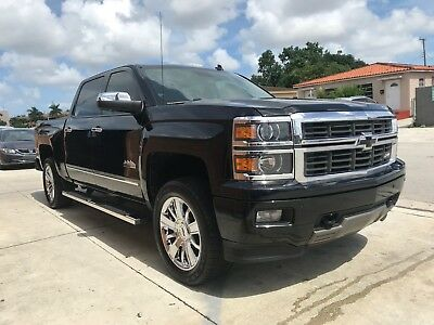 2014 Chevrolet Silverado 1500 HIGH COUNTRY 4X4 High Country 5.3L V8 Four Wheel Drive Crew Cab One Owner No Fees All inclusive