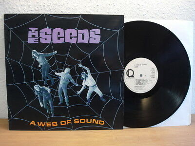 The Seeds - A Web Of Sound Garage Psych Lp In Mint Mega Rar
