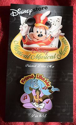 Disney Store ALADDIN & GENIE FRIEND LIKE ME Magical Musical Moments Pin -Pins