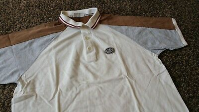 Sergio Tacchini Poloshirt Tennis 80s 90s Vintage made in italy shirt jersey L