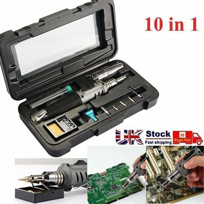 Professional Gas Soldering Iron Self-igniting Torch Pen Kit For Electric Repair