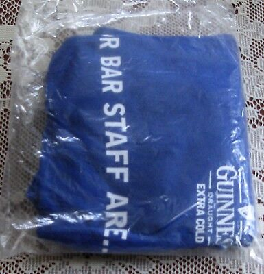 Guinness T Shirt Brand new in packet bar staff item Size XL collectors item