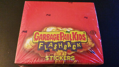 2011 Garbage Pail Kids Flashback Series 2 - Sealed Hobby Box with 24 packs