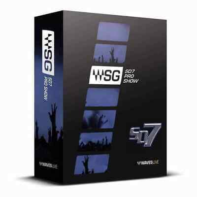 Waves SD7 Pro Show Bundle AAX + Mixing Lessons + 24hr E-Delivery!
