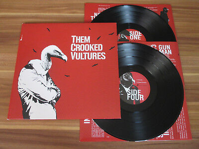 Them Crooked Vultures - Same / 2LP 2009 RCA Sony Music + OIS / Mint-