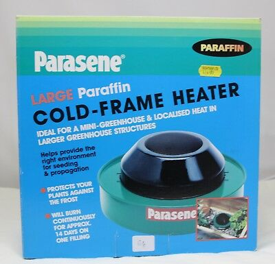 Plants Frost Protect Single Paraffin Cold Frame Greenhouse Propagation Heater
