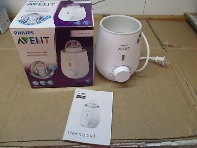 Philips Avent Fast Bottle Warmer Scf355/00 New In Opened Box  Fast/free Shipping