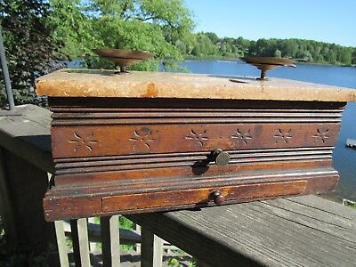 ANTIQUE 1800's APOTHECARY OR MERCANTILE SCALE IN GREAT WORKING CONDITION