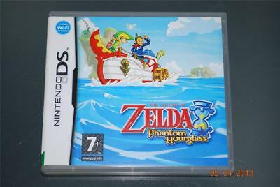 The Legend of Zelda Phantom Hourglass Nintendo DS 3DS UK PAL **FREE UK POSTAGE**