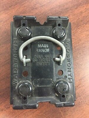 WADSWORTH 60AMP FUSE Holder Pull-Out