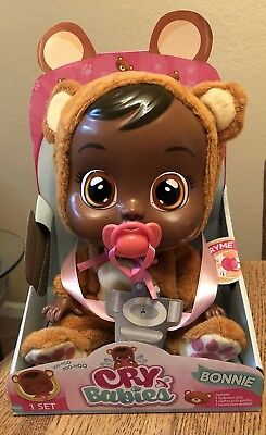 CRY BABIES BONNIE DOLL BABY DOLL NEW SOLD OUT Cries Real Tears
