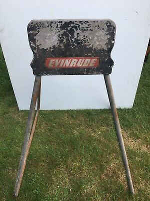 Vintage Evinrude Small Outboard Boat Engine Stand