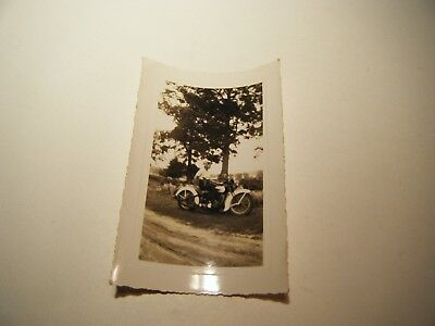 "Vintage authentic Harley Davidson Motorcycle Photograph 5"" X 3"""