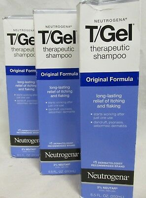 Neutrogena T Gel Therapeutic Shampoo Original Formula, 25.5 oz - 3 Pack