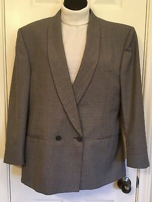 3 American Airlines Houndstooth Jackets Uniform 2 Womens & 1 Mans