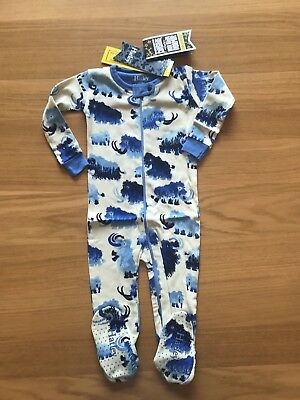 Hatley Zip Up Babygro Age 12-18 Months. BRAND NEW WITH TAGS