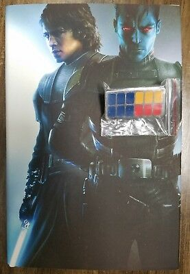 SDCC 2018 Star Wars: Thrawn Alliances Book Signed Timothy Zahn & PIN