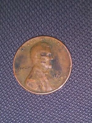 1960 antique copper penny and 1966 copper penny bundle..Fair and mint condition.