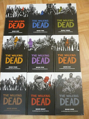 THE WALKING DEAD Vol.1-9 Deluxe Hardcover Edition