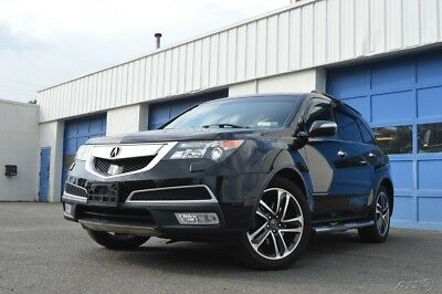 Acura MDX 3.7L Advance Package Navigation Blind Spot Active Cruise Heated Cooled Seats Rear DVD Rear Cam Loaded