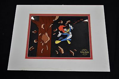 Woody Woodpecker Serigraph Cel by Walter Lantz Certified 1991 Signed
