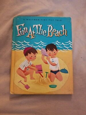 Vintage Children's Whitman Tiny-Tot Tale Book - FUN AT THE BEACH - 1966